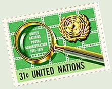 United Nations Stamp Collecting Stamp
